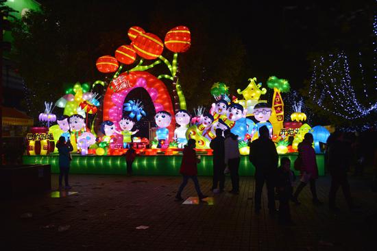 2016年湖南元宵燈會制作安裝