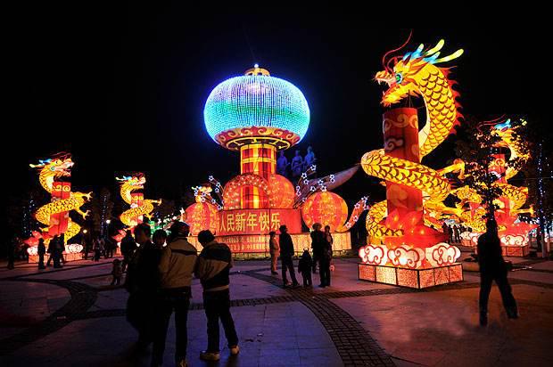 2017年貴州元宵燈會設計制作安裝