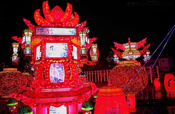 2010甘肅迎春燈會
